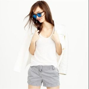 JCrew Tan Grey Chino Shorts Size 00